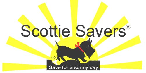 Scottie Savers. Save for a sunny day.
